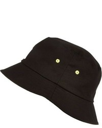 River Island Boys Black Bucket Hat