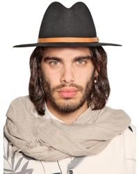 Diesel Wool Felt Fedora Hat