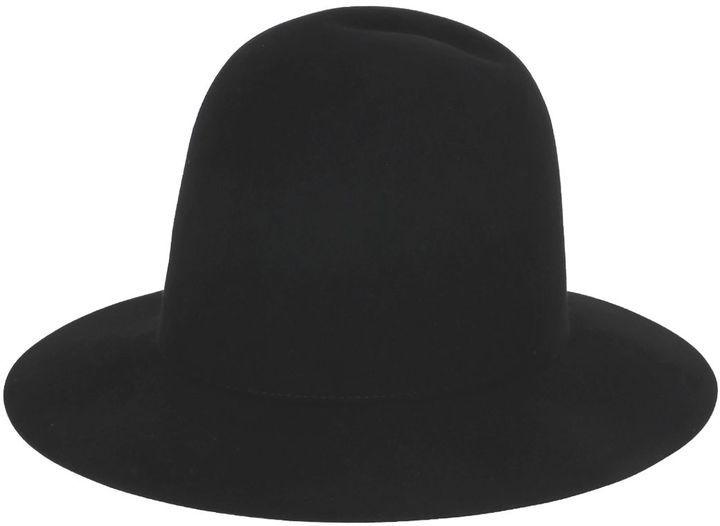 eb9f14aa Gucci Lapin Felt Brimmed Hat, $425   LUISAVIAROMA   Lookastic.com