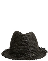 Isabel Benenato Papyrus Brimmed Woven Straw Hat