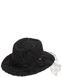 Maison Michel Andre Lace Rabbit Fur Felt Hat