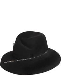 Maison Michel Zip Around Rabbit Fur Felt Hat