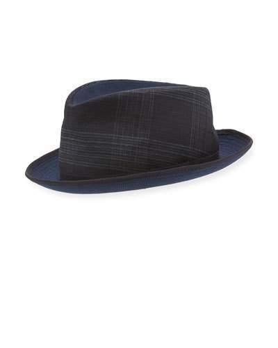 Etro Mixed Media Fedora Hat