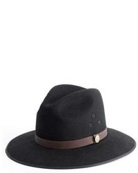 Simon And Mary Black Wide Brim Hat