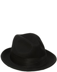 Stacy Adams Crushable Wool Felt Snap Brim Fedora Hat