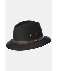 Stetson Water Repellent Safari Hat Black Large