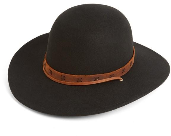 Tiller Hat. Black Hat by Brixton a7f06eca5e7