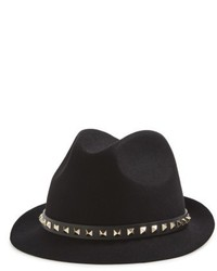 Valentino fur felt hat pink medium 5256110