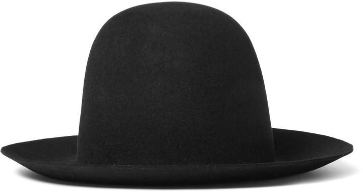 7f353226872fb3 ... Gucci Wide Brimmed Rabbit Felt Hat ...
