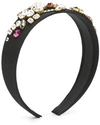 Dolce & Gabbana Kids Crystal Embellished Headband