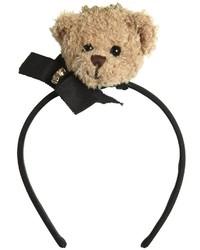 Dolce & Gabbana Teddy Bear Grosgrain Headband