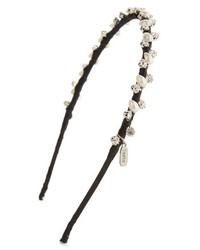 Tasha Imitation Pearl Crystal Skinny Headband