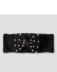 Justintaylor Girls Justintaylor Knit Headband Black