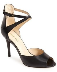 Black heeled sandals original 1636827