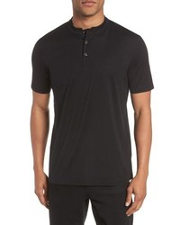 Hugo Daspen Solid Henley T Shirt