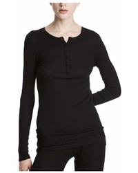 ATM Anthony Thomas Melillo Modal Rib Long Sleeve Henley