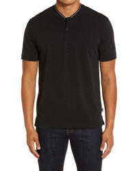 BOSS Pratt Regular Fit Solid Henley
