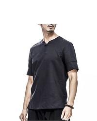 Black Henley Shirt