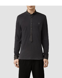 AllSaints Saints Long Sleeved Henley