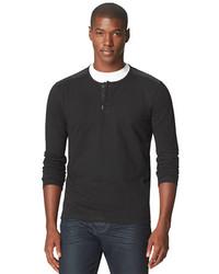 Calvin Klein Jeans Long Sleeve Cotton Henley