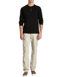 Barneys New York Slub Henley
