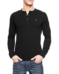 True Religion Long Sleeve Henley Shirt