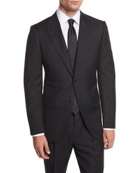 Ermenegildo Zegna Wool Herringbone Two Piece Suit