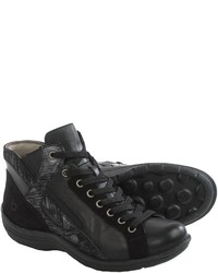 Bionica Orbit High Top Sneakers Leather