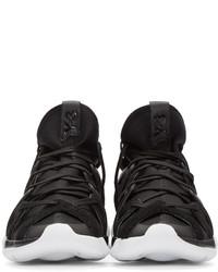 e454945187947 ... Y-3 Black Kyujo High Top Sneakers ...