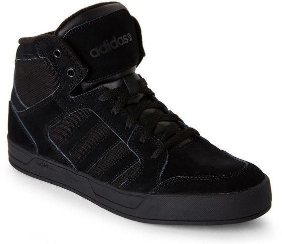 official photos 701df ebdc6 ... adidas Black Neo Raleigh High Top Sneakers ...