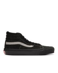 Vans Black Nubuck Og Sk8 Hi Lx Sneakers