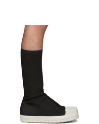 Rick Owens DRKSHDW Black Sock Sneakers