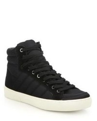 Saks Fifth Avenue Collection By Ecoalf Quilted High Top Sneakers