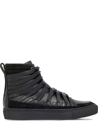 Damir Doma Falco Leather High Top Trainers