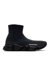 Balenciaga Grey Speed Trainers