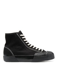 Superga High Top Lace Up Sneakers