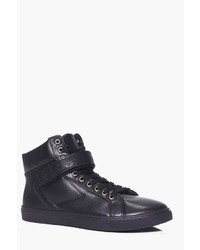 Boohoo High Top With Buckle Detail
