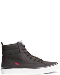 H&M High Tops Black