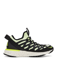 Nike Orange And Green Acg React Terra Gobe Sneakers
