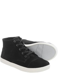 Toms Paseo High Shoes Suede