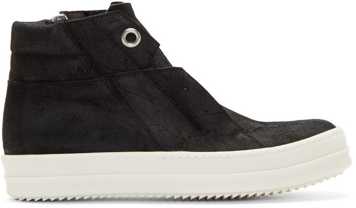 DHLg6vJCrc Black Island Dunk Combo High-Top Sneakers Kwmpw