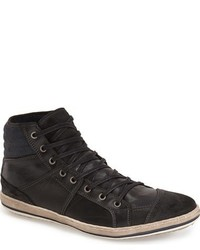 Dune London Solar Eclipse High Top Sneaker