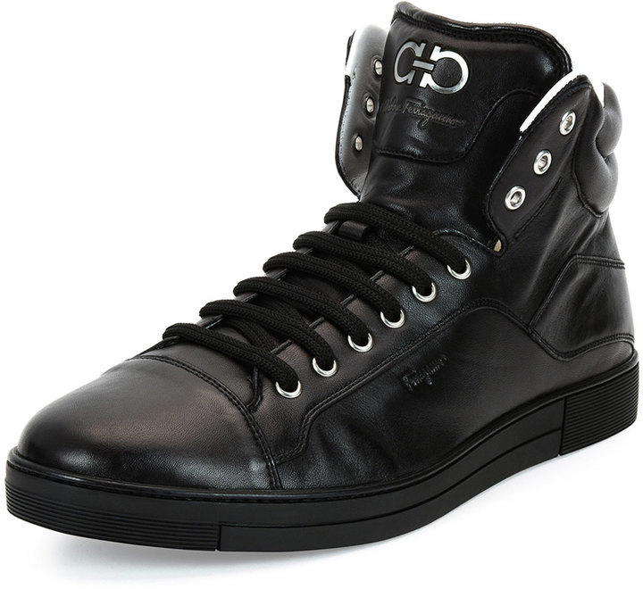 Latest Collections For Sale FOOTWEAR - High-tops & sneakers Salvatore Ferragamo Fake Online naawL7j3mq