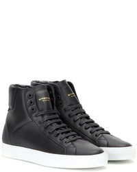 Givenchy Urban Knots High Top Leather Sneakers