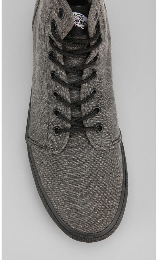 vans 106 high-top washed men's sneaker