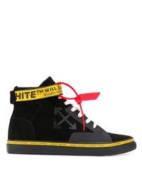 Off-White Vulcanized High Top Skater Sneakers