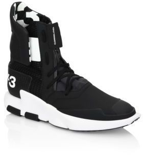 ... Y-3 Y3 Noci High Top Sneakers ... 34bbd193cb0a