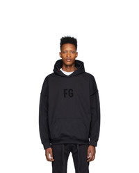 Fear Of God Black Everyday Hoodie