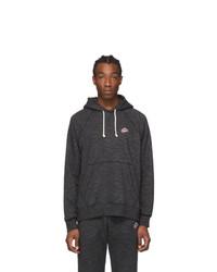 Nike Black Heritage Pullover Hoodie