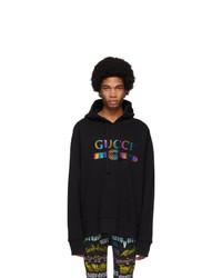 Gucci Black Logo Hoodie